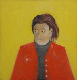 Craigie Aitchison: Girl in a Red Blazer by Craigie Aitchison