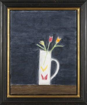 Craigie Aitchison: Still Life Vase and Flowers by Craigie Aitchison