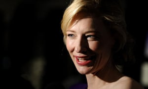 Cate Blanchett, currently starring in Liv Ullman's A Streetcar Names Desire in New York