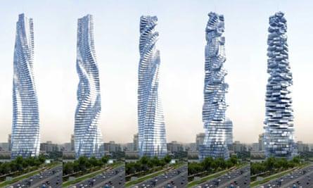 David Fisher's Dynamic Towers, Dubai