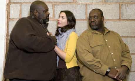 Ronald Samm, Stephanie Corley and Keel Watson in Verdi's Othello by Birmingham Opera Company