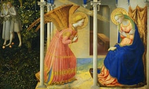 The Annunciation (1430-1445) by Fra Angelico