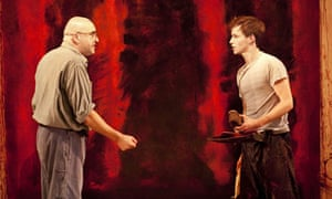 Alfred Molina and Eddie Redmayne in Red, The Donmar Warehouse 2009
