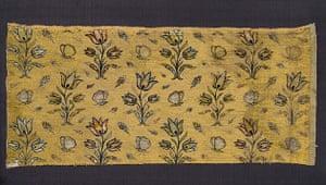 Shah Abbas: Silk-velvet textile