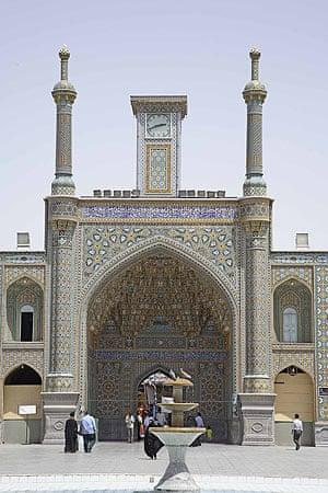 Shah Abbas: Shrine at Qum