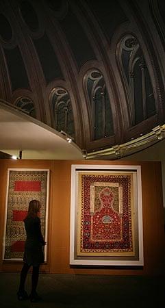 Shah Abbas: A prayer rug