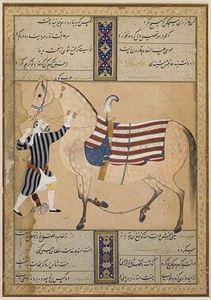Shah Abbas: Horse and groom