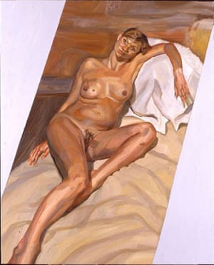 Lucian Freud's painting of a pregnant Kate Moss