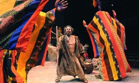 Antony Sher as Prospero in The Tempest