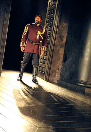 Lenny Henry as Othello at West Yorkshire Playhouse