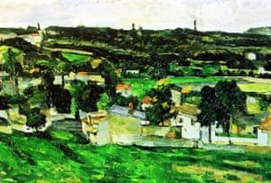 Art theft: Paul Cezanne's Auvers-Sur-Oise