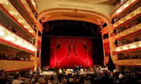 Audience at the Alexandrinsky Theatre in St Petersburg