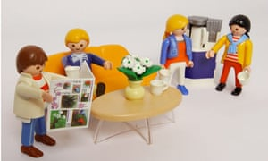 Playmobil figures invented by Hans Beck