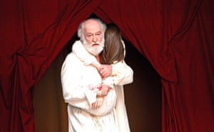 David Calder as King Lear