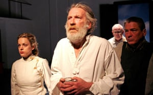 David Warner as King Lear