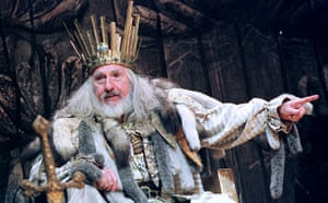 Nigel Hawthorne in King Lear at the Barbican in 1999