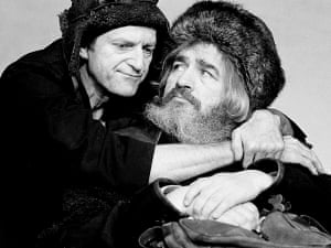 David Bradley as the Fool and Brian Cox as King Lear