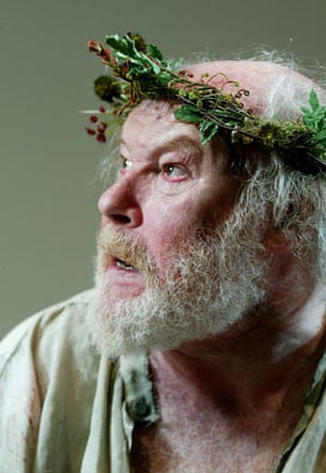 Timothy West as King Lear