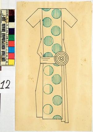 Popova dress design