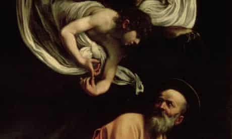 Caravaggio's St Matthew and the Angel, 1602