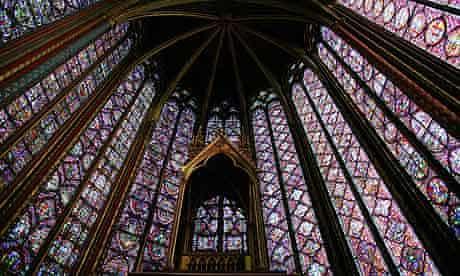 Saint-Chapelle church in Paris