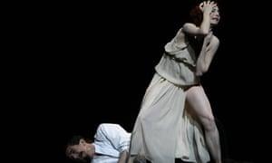 Vivid emotions ... Tamara Rojo in Isadora