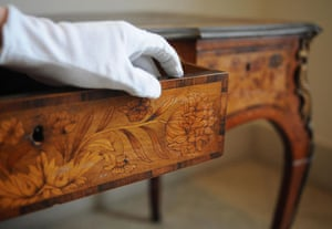 The Week in Art: Lord Lucan's desk up for auction