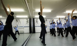 A London dance class