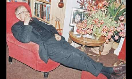 David Hockney at home in Bridlington
