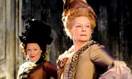 Frances Barber and Judi Dench in Madame de Sade