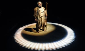 Antony Sher as Prospero in The Tempest