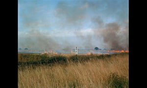 Burning fields, Melmerby, North Yorkshire, September 1981 by Paul Graham from A1
