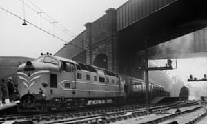 Deltic Diesel at Lime Street Station in Liverpool