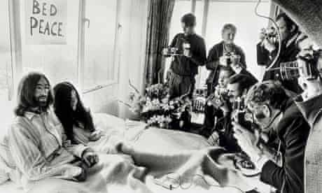 Lennon and Ono Bed-In