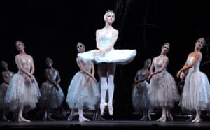 Marianela Nunez (Odette) in Swan Lake by The Royal Ballet in 2008