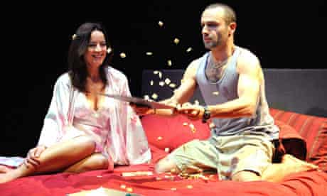 Amanda Drew as Joy and Andrew Lincoln as Dale in Parlour Song at the Almeida