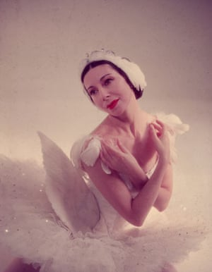 Alicia Markova, pictured in 1954, was the first English dancer to play Odette in Swan Lake