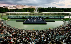 The English National Ballet performs Swan Lake at Versailles