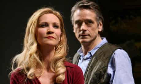 Joan Allen and Jeremy Irons in Impressionism