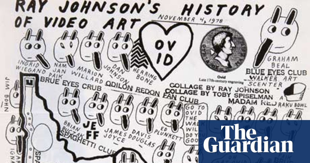 The Ray Johnson exhibition at east London's Raven Row