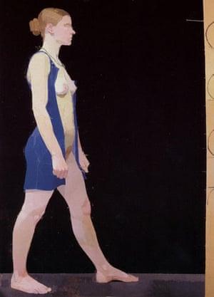 Week in art: Euan Uglow's nude Cherie Blair