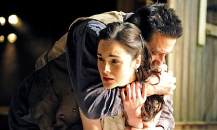 Michelle Dockery and Ciaran Hinds in Burnt by the Sun