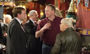 EastEnders characters in the Queen Vic