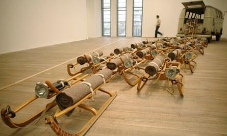 Joseph Beuys's The Pack, 1969