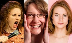 Sarah Kendall, Sarah Millican and Laura Solon