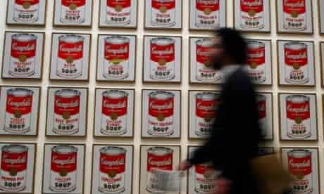 Andy Warhol Retrospective, London 2002