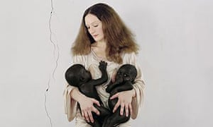 Artist Vanessa Beecroft, South Sudan 2006.