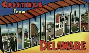 Delaware Greeting Card from Wilmington, Delaware
