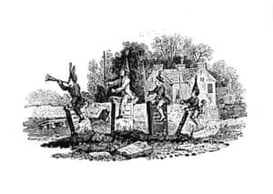 Thomas Bewick: Thomas Bewick, wood engraving by Luke Clennell