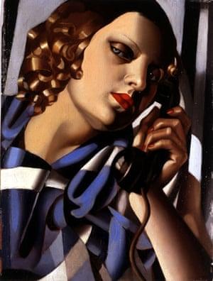 Week in art : Tamara de Lempicka, Le telephone II (The Telephone II), 1930